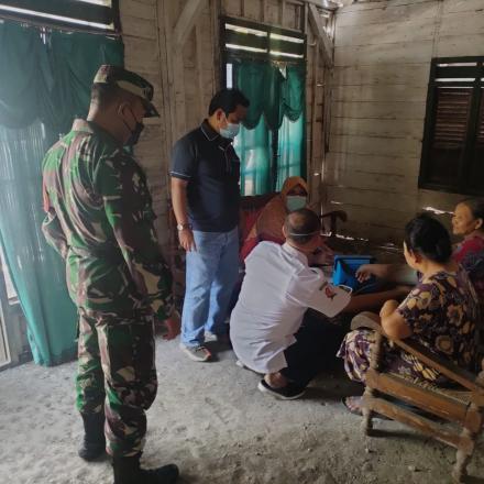 Giat Vaksin Door to Door, Jangkau ODGJ dan Disabilitas di Desa Pungpungan