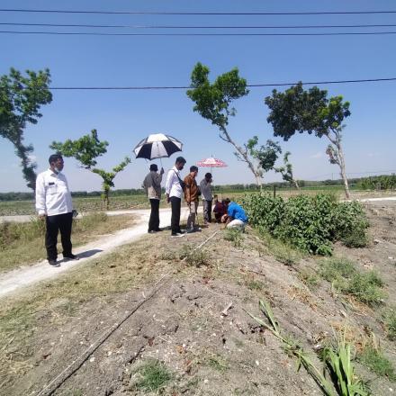 Uji Geolistrik Untuk Mengetahui Titik Pengeboran Sumber Air HIPPAM Desa Pungpungan